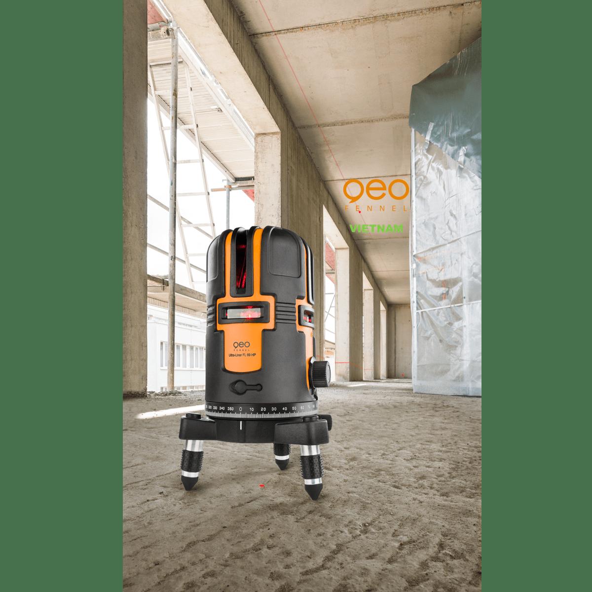 Máy đo cân bằng laser FL69 HP | Thực tế công trường