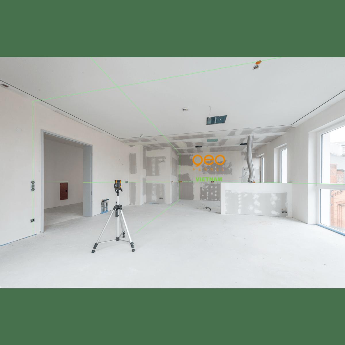 Máy laser xây dựng FLG66-Xtreme Green | Công trường 2