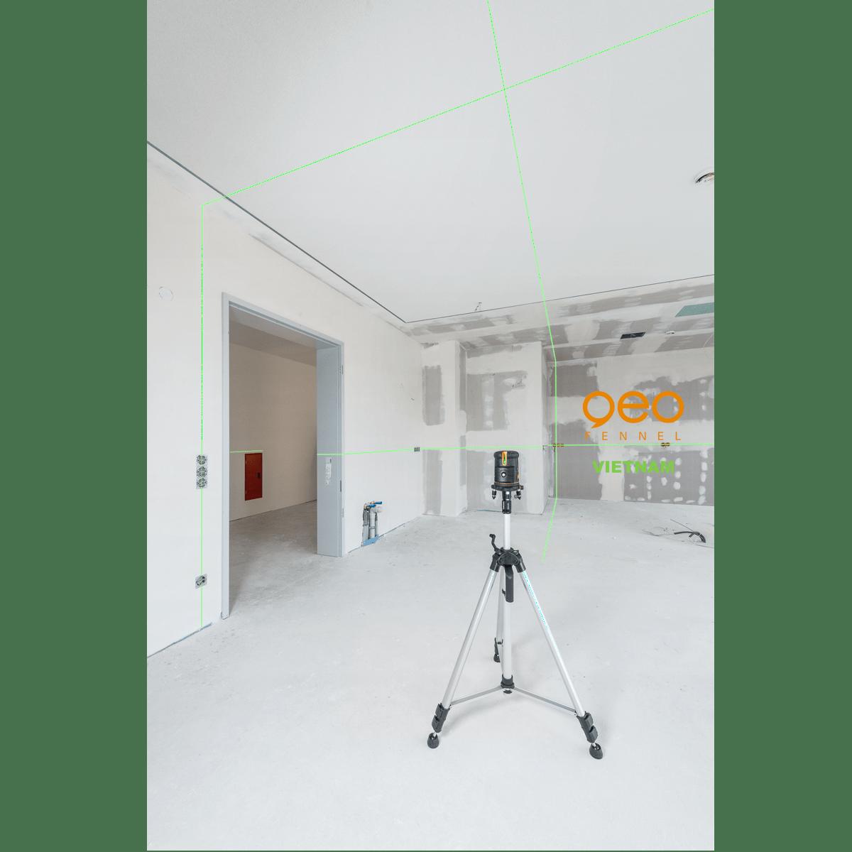 Máy laser xây dựng FLG66-Xtreme Green | Công trường 3
