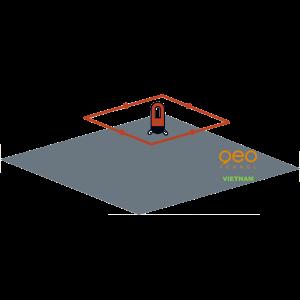 Nivo laser 360 Linerpointer HP | Hình chiếu