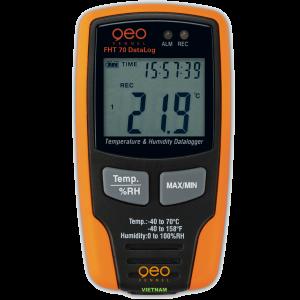 Máy đo độ ẩm không khí FHT70 DataLog | GEO-Fennel Vietnam.