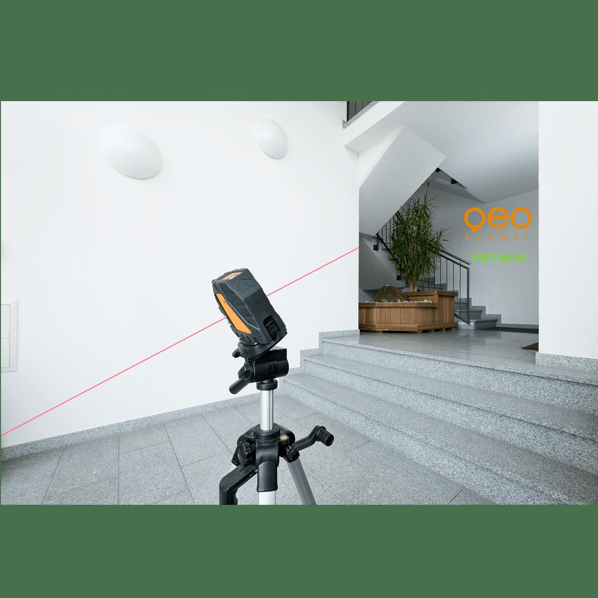 Máy thuỷ bình laser FL40-Powercross SP | Công trường 1