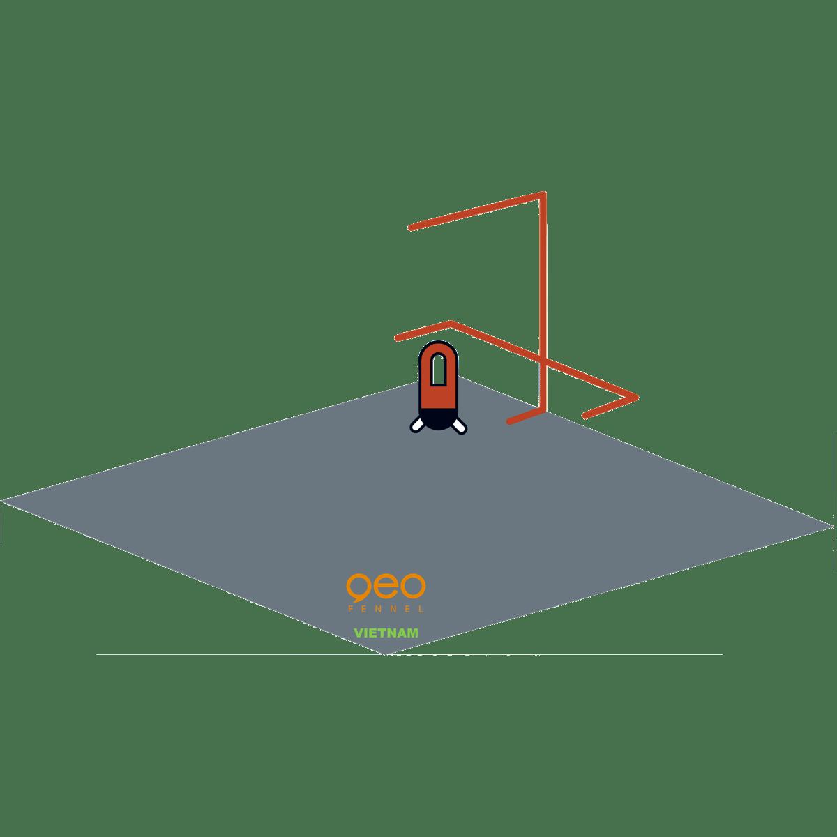 Máy bắn laser FL40-Pocket II HP | Hình chiếu