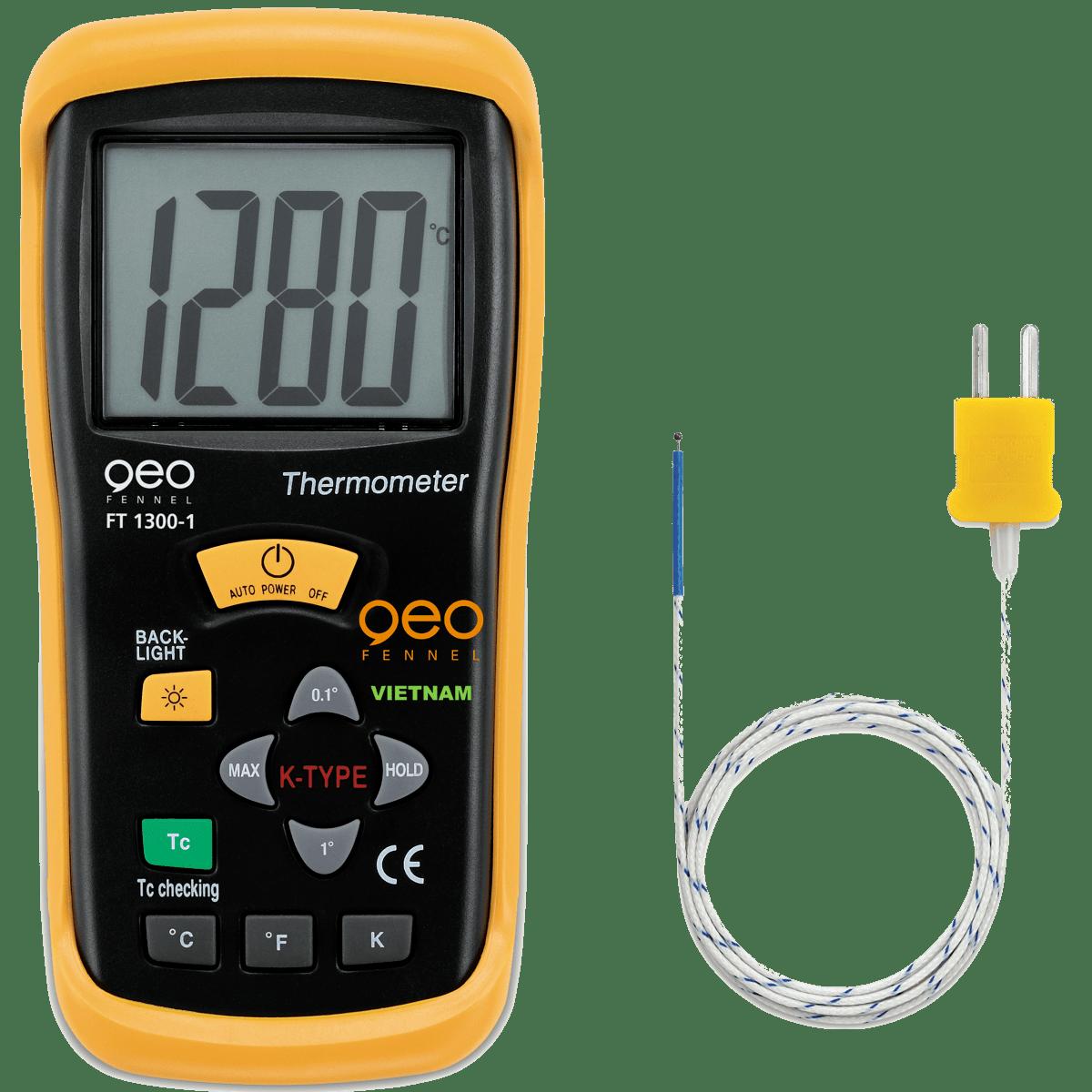 Máy đo nhiệt độ tiếp xúc FT1300-1 | GEO-Fennel Vietnam.