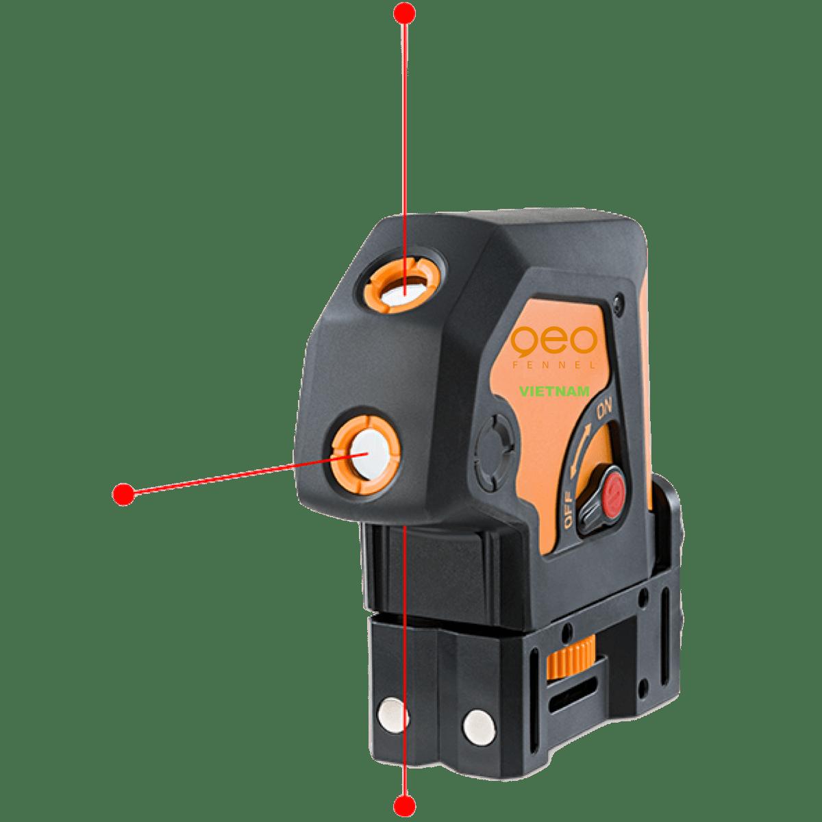 Lập lòn laser GEO3P | Chiếu 3 điểm