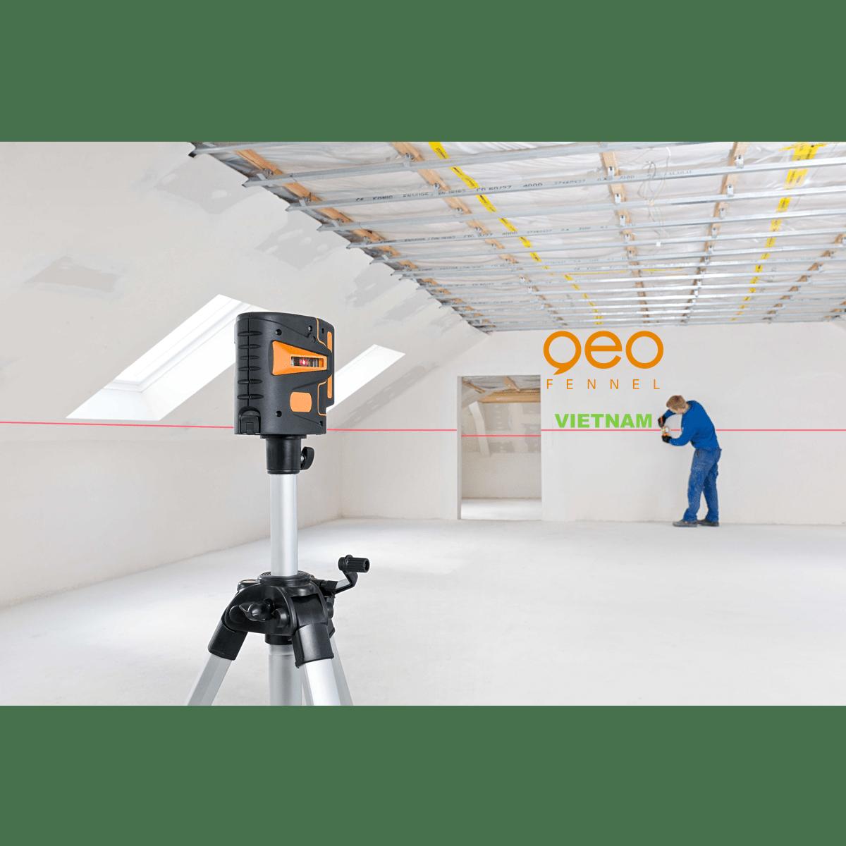 Máy bắn tia laser GEO5X-L360 HP | Công trường 3