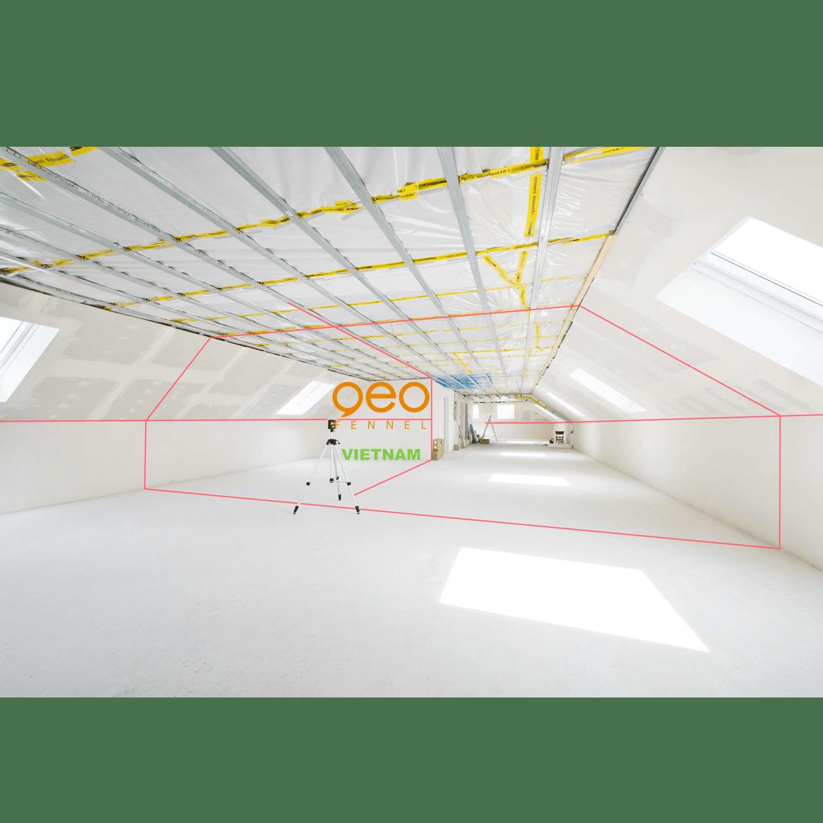 Máy bắn tia laser GEO5X-L360 HP | Công trường 5