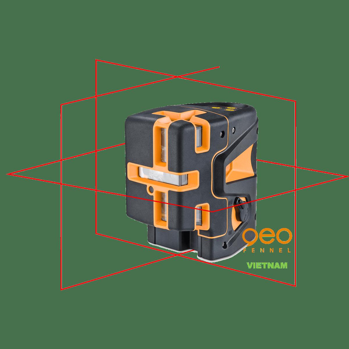 Máy bắn tia laser GEO5X-L360 HP | Hình chiếu
