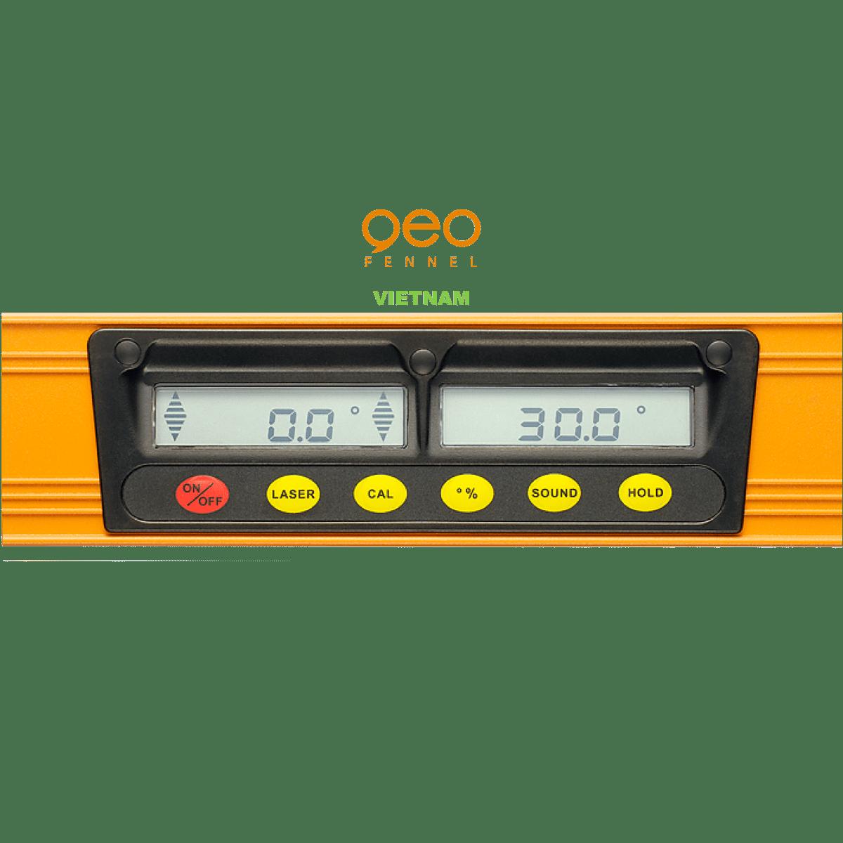 Máy đo độ nghiêng Multi-Digit Pro+ | Màn hình.