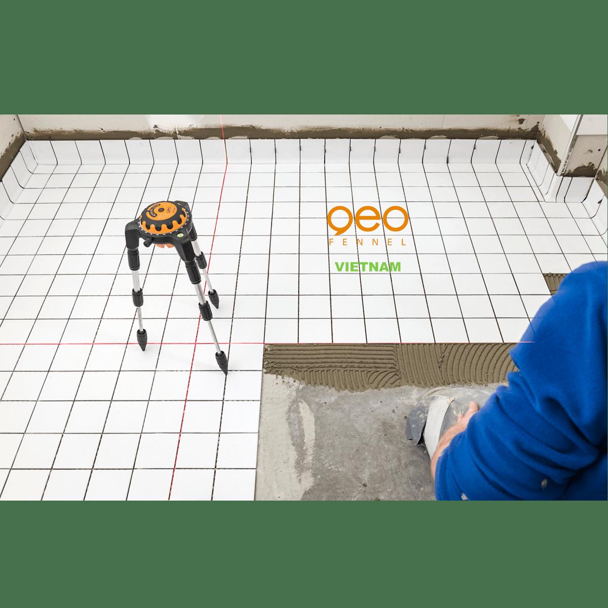 Máy đo vuông góc laser GEOSPIDER | Nhện laser | Bóp ke sàn