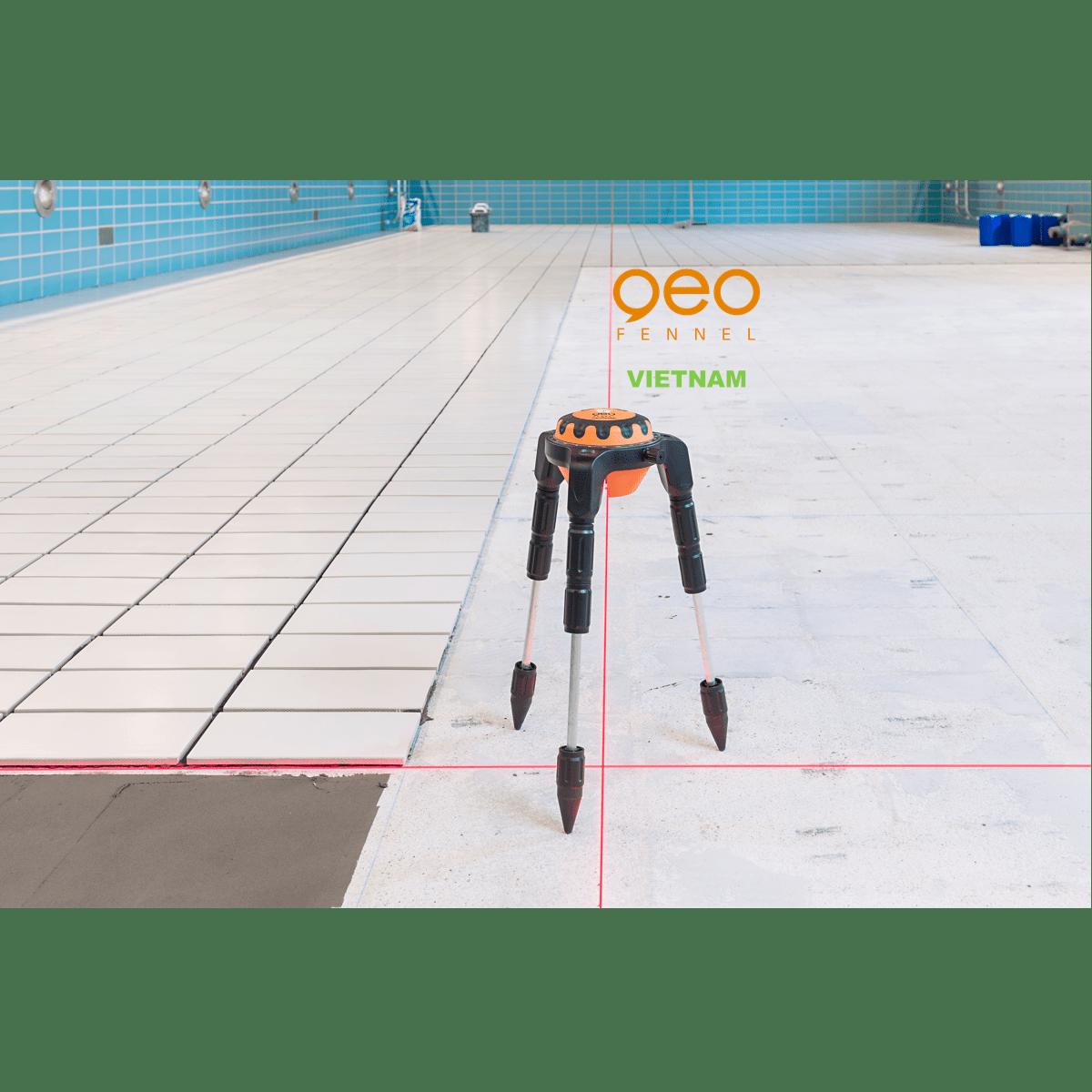 Máy đo vuông góc laser GEOSPIDER | Nhện laser | Tạo góc vuông bằng laser