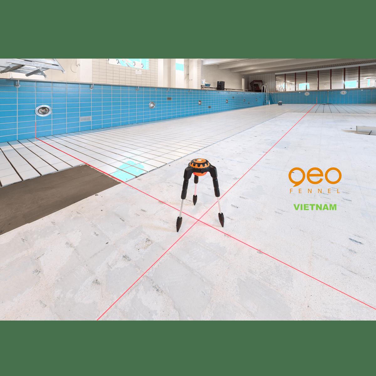 Máy đo vuông góc laser GEOSPIDER | Nhện laser | Ke vuông