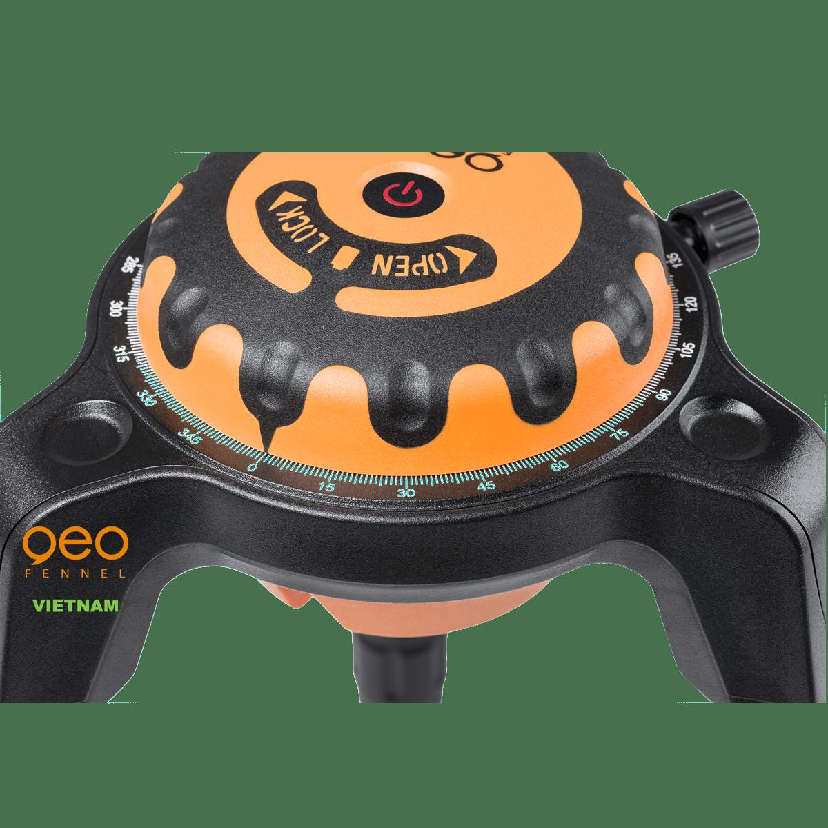 Máy đo vuông góc laser GEOSPIDER | Nhện laser | Tắt máy