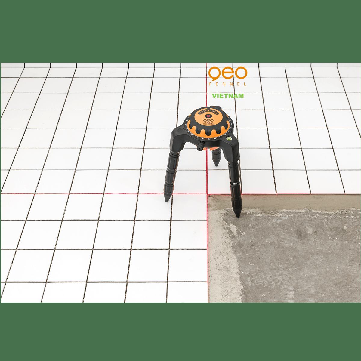 Máy đo vuông góc laser GEOSPIDER | Nhện laser | Ốp gạch