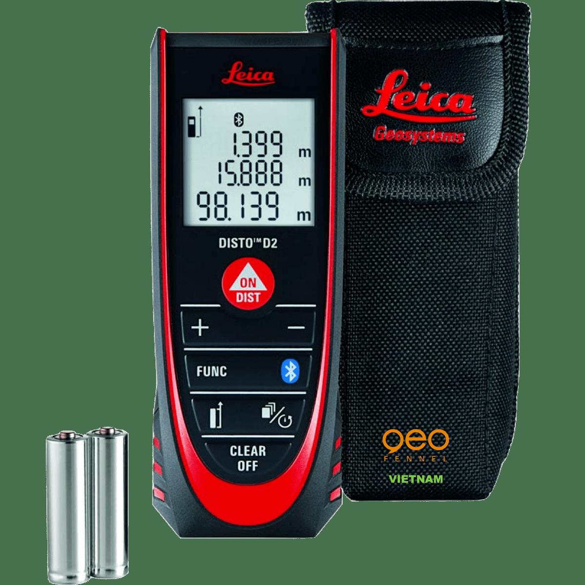 Máy đo khoảng cách cầm tay Disto D2 new | Bộ máy.