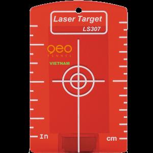 Tấm phản quang laser đỏ LS307 Red | GEO-Fennel Vietnam.