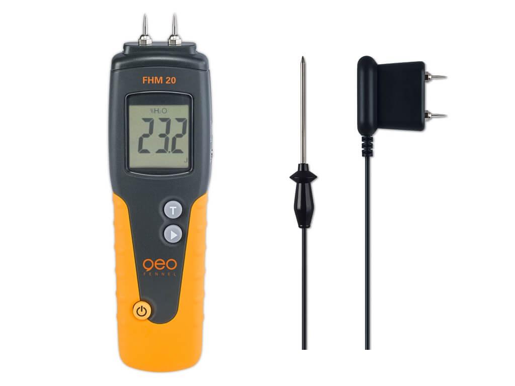 Máy đo độ ẩm tường, sàn FHM 20