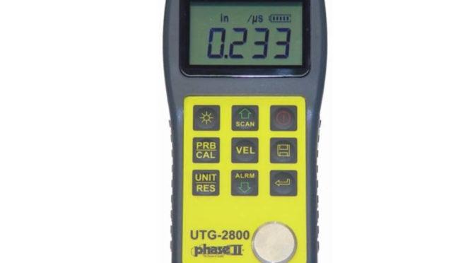 Máy đo độ dày vật liệu UTG-2800 | Phase II+