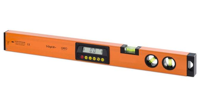 Thước thủy laser, nam châm, dài 600mm S-Digit 60+